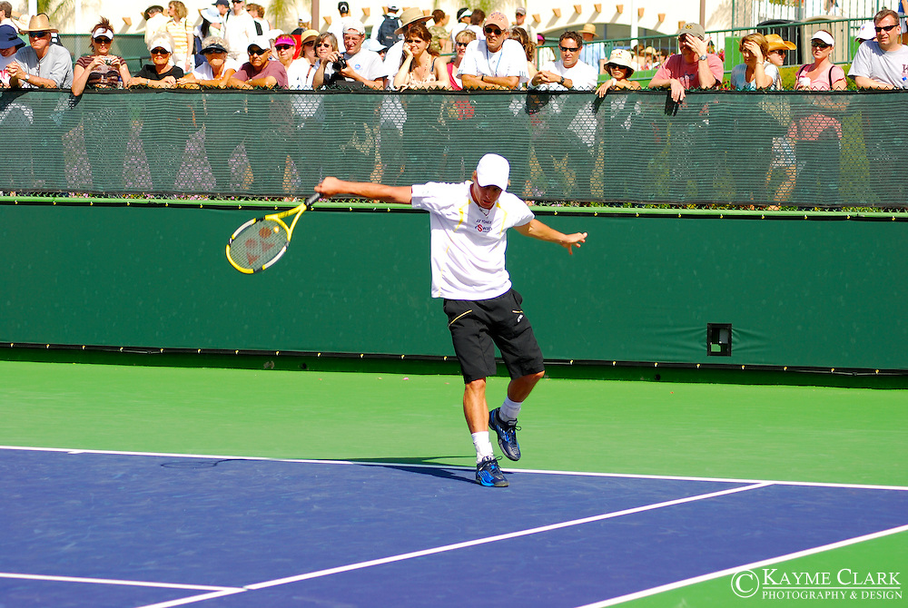 Lleyton Hewitt, Australia, ATP Player, Pacific Life Open Tennis Tournament, Indian Wells Tennis Garden, California, United States
