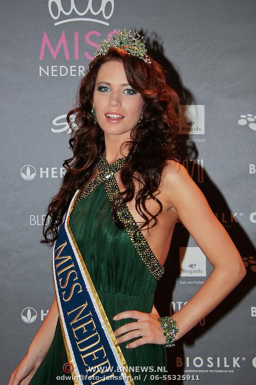 NLD/Nijkerk/20110710 - Miss Nederland verkiezing 2011, Miss Nederland Earth Jill Duijves
