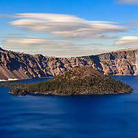 Crater Lake Wizard Island 4 PM