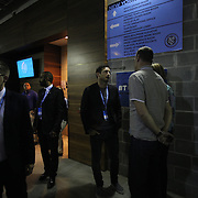 Frank Lampard, (center), NYCFC, outside the team dressing rooms after the New York City FC Vs New York Red Bulls, MSL regular season football match at Yankee Stadium, The Bronx, New York,  USA. 28th June 2015. Photo Tim Clayton
