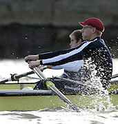 PUTNEY, LONDON, ENGLAND, 05.03.2006, Jake Wetzel, Pre 2006 Boat Race Fixtures,.   © Peter Spurrier/Intersport-images.com.Oxfords, No.3 Jake Wetzel,[Mandatory Credit Peter Spurrier/ Intersport Images] Varsity Boat Race, Rowing Course: River Thames, Championship course, Putney to Mortlake 4.25 Miles