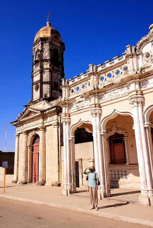 Architecture in Rodas, Cienfuegos Province, Cuba.
