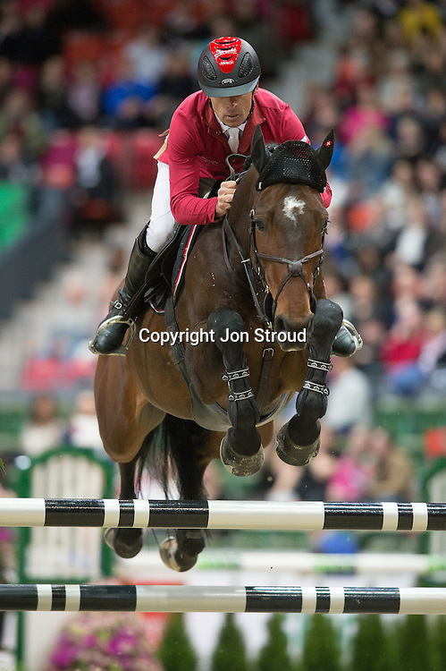 Pius Schwizer (SUI) & Verdi III - Rolex FEI World Cup Jumping Final 1 - Gothenburg Horse Show 2013 - Scandinavium, Gothenburg, Sweden - 25 April 2013