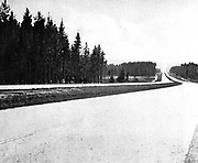 Motorway or Autobahn (Germany) 1936. They first were built in the 1920s and, in the 1930s, the official name was Reich autobahn (freeway of the Reich).
