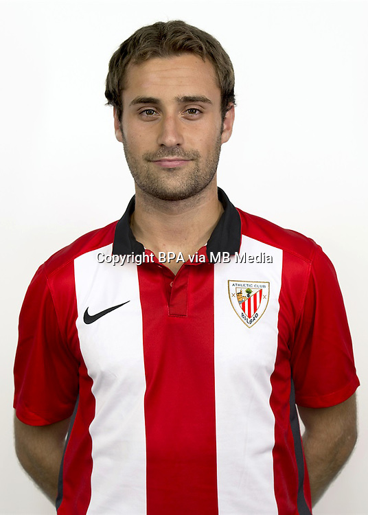 Spain - La Liga Adelante 2015-2016 / <br /> ( Club Bilbao Athletic ) - <br /> Gorka Santamar&iacute;a Nos