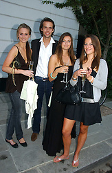 Left to right, BRYONY DANIELS, CHARLIE GILKES, LADY NATASHA RUFUS-ISAACS and KATHERINE ACLAND at a party to celebrate the re-launh of Penhaligon's at 132 Kings Road, London SW3 on 7th June 2006.<br />