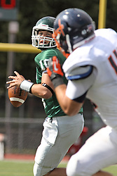 28 September 2013:  Rob Gallik during an NCAA division 3 football game between the Hope College Flying Dutchmen and the Illinois Wesleyan Titans in Tucci Stadium on Wilder Field, Bloomington IL