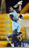 CENTURION, SOUTH AFRICA - 9  January 2009, Gulam Bodi celebrates winning during the MTN Domestic Championship Semi Final match between The Nashua Titans and The Nashua Cape Cobras held at SuperSport Park, Centurion, South Africa..Photo by Barry Aldworth/SPORTZPICS