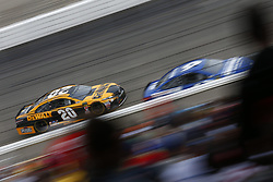 July 22, 2018 - Loudon, New Hampshire, United States of America - Erik Jones (20) battles for position during the Foxwoods Resort Casino 301 at New Hampshire Motor Speedway in Loudon, New Hampshire. (Credit Image: © Justin R. Noe Asp Inc/ASP via ZUMA Wire)