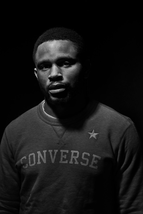 NEW YORK, NY -- 6/6/17 -- Nnamdi Asomugha, stars in the new film Crown Heights, based on the life of Colin Warner, who was wrongly incarcerated for over 20 years. Asomugha plays his best friend, Carl King in the film, which won the Audience Award at Sundance. The film is to be released August 25.…by André Chung #_AC18928