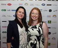 13/11/2015 Repro free   Renata Gaiderova and Mary Walsh from Athenry  at Galway Glamour  by Galway Shopping Centre at the g Hotel hosted by Sile Seoige  <br /> Photo:Andrew Downes, xposure.