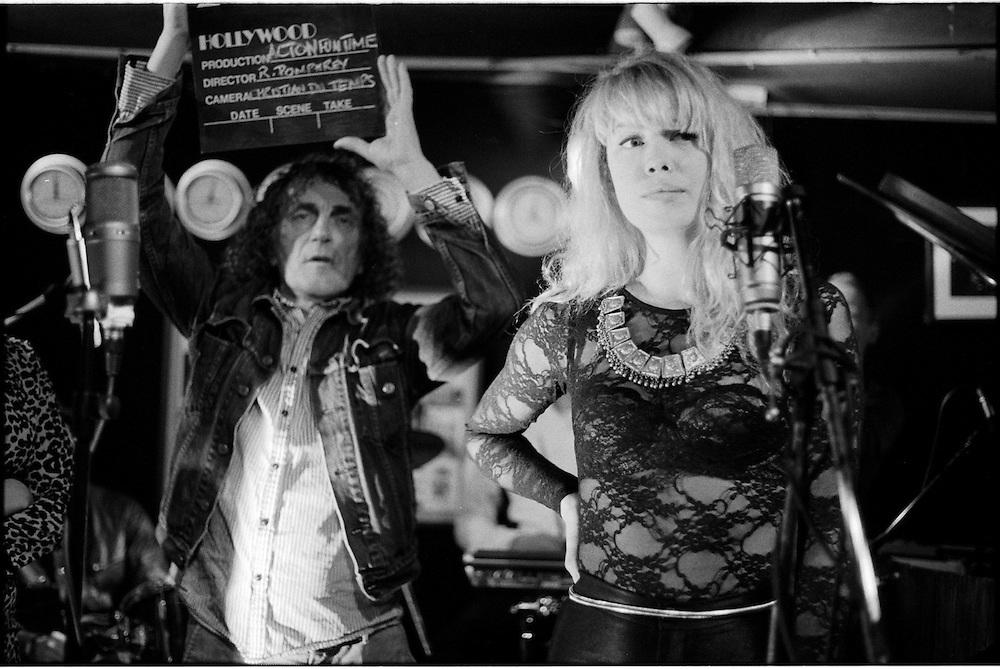 Roger Pomphrey and Annie bea@RHGTV recording