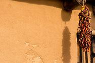 Bents Old Fort National Historic Site, La Junta, Colorado, chili pepper ristra