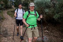 13-06-2017 NED: We hike to change diabetes day 4, Ponferrada<br /> De derde dag van El Acebo naar Ponferrada. Een tocht van 16 km door heuvelachtig landschap maar vooral in de afdaling. Spain