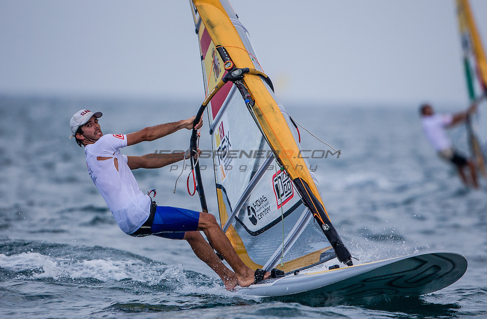 RS:X WORLD CHAMPIONSHIP 2015, October 17th-24th Al Mussanah Sports City, Sultanate. 3rd day of racing, golden fleets 22.10.2015<br /> <br /> Credit Jesus Renedo/Oman Sail