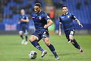 Bolton Wanderers midfielder Liam Feeney with the ball at his feet during the Sky Bet Championship match between Bolton Wanderers and Ipswich Town at the Macron Stadium, Bolton, England on 8 March 2016. Photo by Simon Brady.
