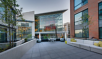 Exterior photo of Central Apartments in Silver Spring MD by Jeffrey Sauers of Commercial Photographics, Architectural Photo Artistry in Washington DC, Virginia to Florida and PA to New England
