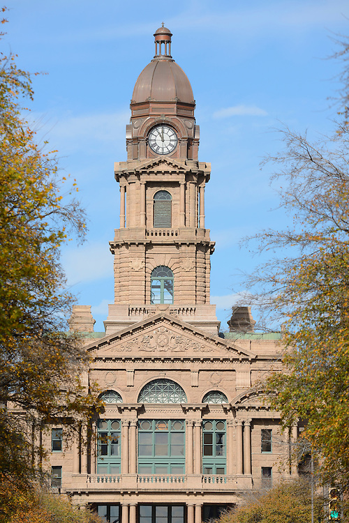 The Tarrant County Courthouse,Fort Worth, Texas,USA