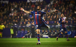 February 24, 2019 - Valencia, Valencia, Spain - Erick Cabaco of Levante UD during the La Liga match between Levante and Real Madrid at Estadio Ciutat de Valencia on February 24, 2019 in Valencia, Spain. (Credit Image: © Maria Jose Segovia/NurPhoto via ZUMA Press)