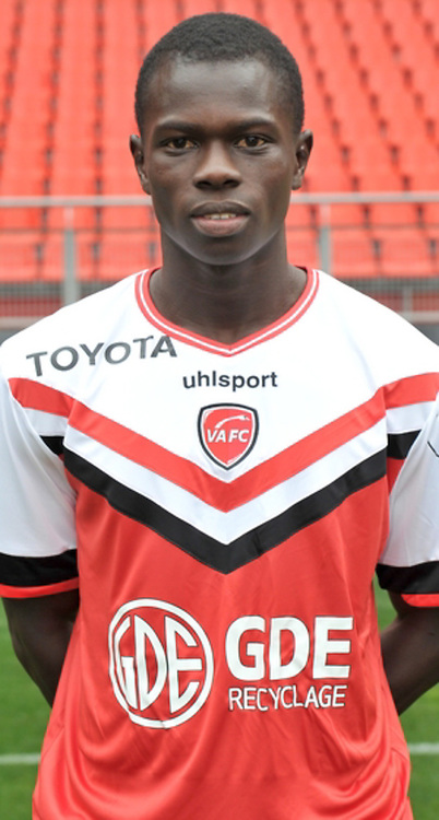 Lamine NDAO - 19.10.2014 - Portrait Officiel Valenciennes - Ligue 2<br /> Photo : Icon Sport