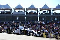 Valtteri Bottas (FIN) Williams FW36.<br /> United States Grand Prix, Saturday 1st November 2014. Circuit of the Americas, Austin, Texas, USA.