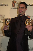 Sacha Baron Cohen. BAFTA Television Awards, sponsored by the Radio Times, Grosvenor House. London. 13 May 2001. © Copyright Photograph by Dafydd Jones 66 Stockwell Park Rd. London SW9 0DA Tel 020 7733 0108 www.dafjones.com