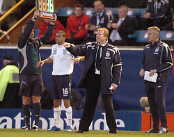 England Manager, STEVE McClaren, England B-Albania, International Friendly,  Turf Moor Ground Burnley, 25/5/2005 Score 3-1