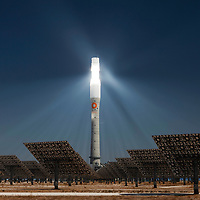 Solar Tower in Spain - Renewable Energy