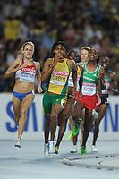 ATHLETICS - IAAF WORLD CHAMPIONSHIPS 2011 - DAEGU (KOR) - DAY 7 - 02/09/2011 - PHOTO : STEPHANE KEMPINAIRE / KMSP / DPPI - <br /> 800 M - WOMEN - SEMI FINALE - CASTER SEMENYA (RSA)