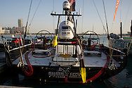 13.01.2012, Abu Dhabi. Volvo Ocean Race, , Abu Dhabi Ocean racing boat winner of the in port race