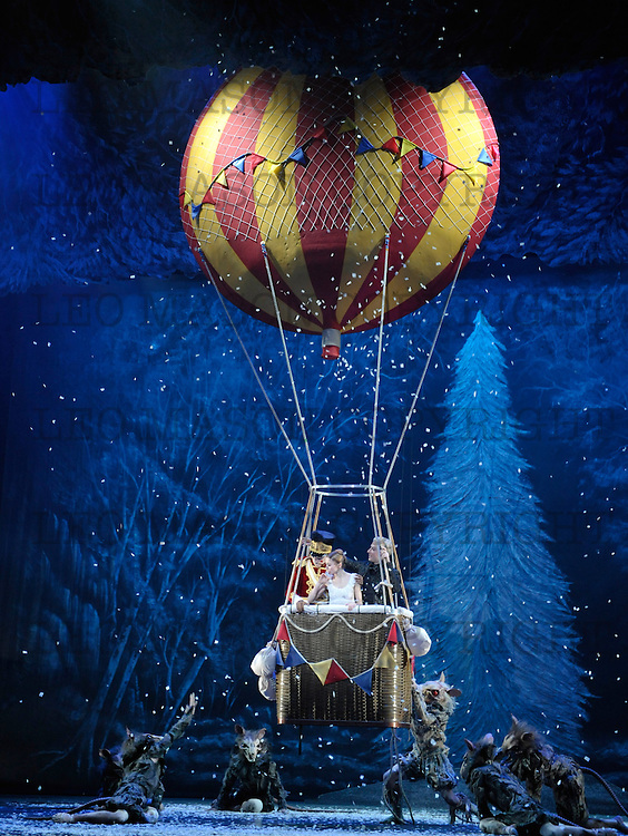 07.11.2011 Wayne Eagling's The Nutcracker performed by the ENB at The London Coliseum UK