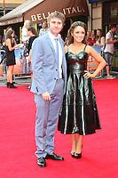 James Buckley; Clair Meek, The Inbetweeners 2 - World Film Premiere, Leicester Square, London UK, 05 August 2014, Photo by Richard Goldschmidt
