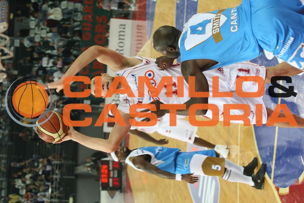 DESCRIZIONE : Roma Lega A1 2006-07 Lottomatica Virtus Roma Tisettanta Cant&ugrave; <br /> GIOCATORE : Mavrokefalidis <br /> SQUADRA : Lottomatica Virtus Roma <br /> EVENTO : Campionato Lega A1 2006-2007 <br /> GARA : Lottomatica Virtus Roma Tisettanta Cant&ugrave; <br /> DATA : 17/12/2006 <br /> CATEGORIA : Tiro <br /> SPORT : Pallacanestro <br /> AUTORE : Agenzia Ciamillo-Castoria/G.Ciamillo