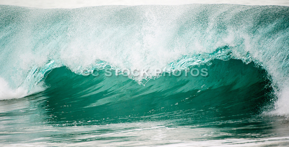 Waves of the Wedge in Newport Beach California