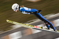 February 8, 2019 - Ljubno, Savinjska, Slovenia - Marita Kramer of Austria on first competition day of the FIS Ski Jumping World Cup Ladies Ljubno on February 8, 2019 in Ljubno, Slovenia. (Credit Image: © Rok Rakun/Pacific Press via ZUMA Wire)