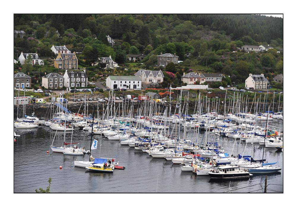 The Brewin Dolphin Scottish Series, Tarbert Loch Fyne...Tarbert Harbour Pontoons.