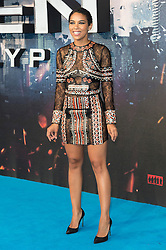 © Licensed to London News Pictures. 09/05/2016. ALEXANDRA SHIPP attends the global fan screening of X-Men: Apocalypse.  London, UK. Photo credit: Ray Tang/LNP