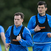 St Johnstone Training….26.08.16<br />Danny Swanson pictured during training this morning at McDiarmid Park who has agreed a loan deal with East Fife<br />Picture by Graeme Hart.<br />Copyright Perthshire Picture Agency<br />Tel: 01738 623350  Mobile: 07990 594431