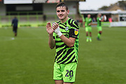 Forest Green Rovers Liam Kitching(20) during the EFL Sky Bet League 2 match between Forest Green Rovers and Crawley Town at the New Lawn, Forest Green, United Kingdom on 5 October 2019.