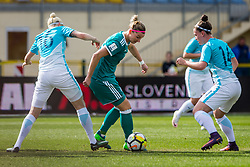 Alexandra Popp of Germany during football match between Slovenia and Germany in Womans Qualifications for World Championship 2019, on April 10, 2018 in Sports park Domzale, Domzale, Slovenia. Photo by Ziga Zupan / Sportida