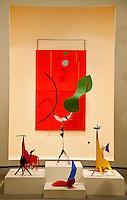 National Gallery, Washington DC, Calder Collection. Abstract animal figures.