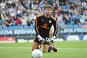 Chesterfields goalkeeper Joe Anyon during the Pre-Season Friendly match between Chesterfield and Rotherham United at the b2net stadium, Chesterfield, England on 25 July 2017. Photo by John Potts.