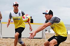 20140816 NED: NK Beachvolleybal 2014, Scheveningen