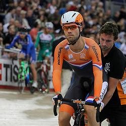 07-12-2014: Wielrennen: WB baan: Londen<br /> Omnium onderdeel scratch Tim Veldt