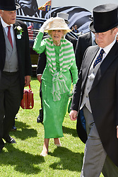 Princess Alexandra at The Investec Derby, Epsom, Surrey England. 3 June 2017.<br /> Photo by Dominic O'Neill/SilverHub 0203 174 1069 sales@silverhubmedia.com