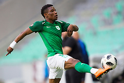 Abass Issah of NK Olimpija Ljubljana during football match between NK Olimpija Ljubljana and NK Triglav Kranj in Round #31 of Prva liga Telekom Slovenije 2017/18, on May 6, 2018 in SRC Stozice, Ljubljana, Slovenia. Photo by Urban Urbanc / Sportida
