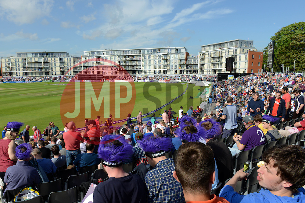 The County Ground begins to fill up before the Gloucestershire v Somerset T20 game - Photo mandatory by-line: Dougie Allward/JMP - Mobile: 07966 386802 - 19/06/2015 - SPORT - Cricket - Bristol - County Ground - Gloucestershire v Somerset - Natwest T20 Blast