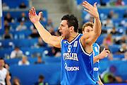 LUBIANA EUROBASKET 2013 19 SETTEMBRE 2013<br /> NAZIONALE ITALIANA MASCHILE<br /> LITUANIA VS ITALIA<br /> NELLA FOTO: ALESSANDRO GENTILE<br /> FOTO CIAMILLO