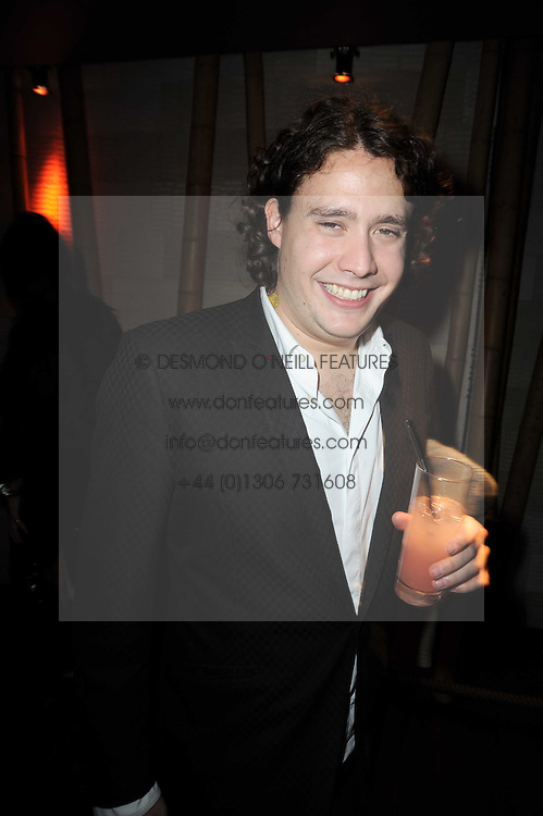 ADAM WAYMOUTH at the Tatler Little Black Book Party held at Chinawhite, 4 Winsley Street, London on 20th November 2009.