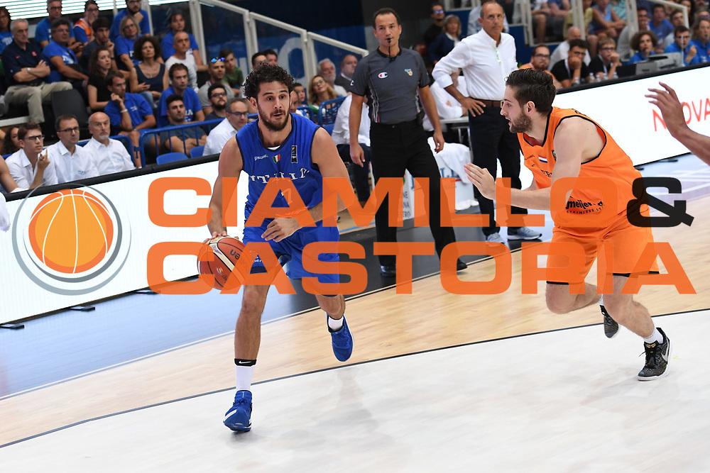 Luca Vitali<br /> Nazionale Italiana Maschile Senior - Trentino Basket Cup 2017<br /> Italia - Paesi Bassi / Italy - Netherlands<br /> FIP 2017<br /> Trento, 30/07/2017<br /> Foto Agenzia Ciamillo-Castoria